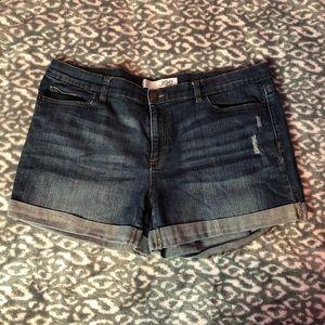 """Joe Fresh 4"""" Denim Shorts (size 16)"""